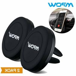 1/2Pack Mpow Car Mount Holder Magnetic Air Vent Cradle Grip