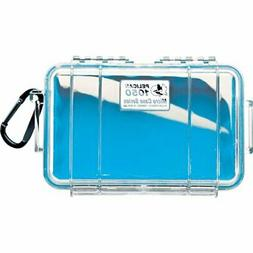 1050 Micro Case Blue Clear Lid Liner 6.31x3.68x2.75