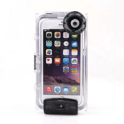 130' Waterproof Underwater Diving Photo Camera Phone Case Fo