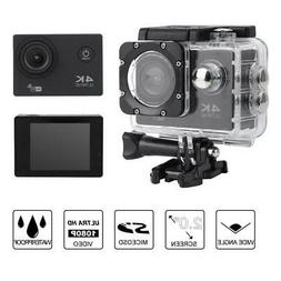 2.0'' LCD WiFi 4K Ultra HD Sport Action Camera Video Camcord