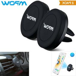Mpow 2 Pack Car Mount Magnetic Air Vent Cradle Grip Mobile F