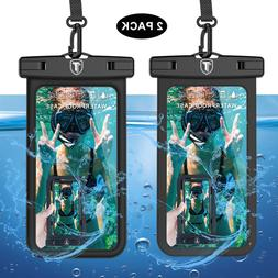 2 Pack Universal Waterproof Phone Pouch Underwater Swimming