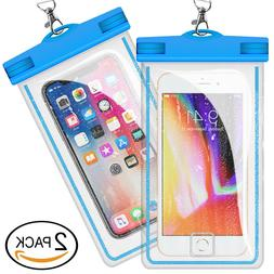 2 pcs universal waterproof phone case phone