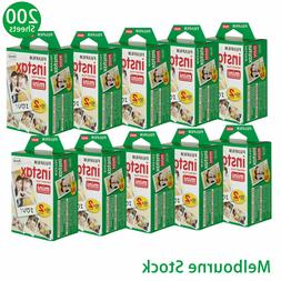 200 Sheet Fujifilm Instax Mini Film Fuji instant photos 7s 8