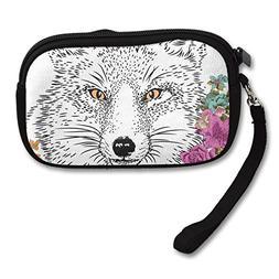 2017 Wolf Animal Straw Bag Cool
