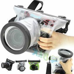 DSLR SLR Camera Waterproof Underwater Housing Pouch Case Dry