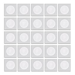 25 Pack - NTAG215 - GoToTags White NFC Sticker - 30mm - work