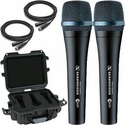2x Sennheiser e935 Vocal Microphones with Gator Waterproof M