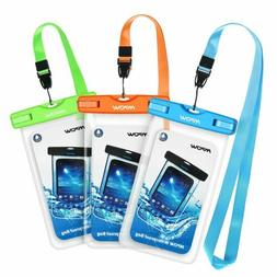 2X Mpow Waterproof Phone Case Pouch Dry Bag for iPhone X XR