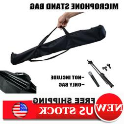 "31"" Speaker Microphone Stand Carrying Case Storage Gig Bag W"