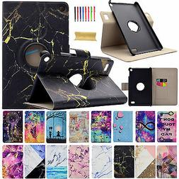 360° Rotating PU Leather Case Stand Cover For Amazon Kindle