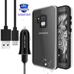 360° Waterproof Full-body Case with Built-in Screen Protect