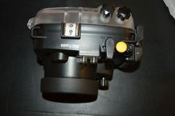 Meikon 40M Waterproof Underwater Camera Housing Case for Son