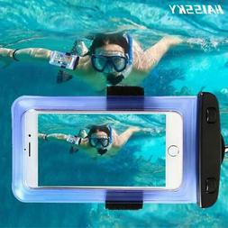 6.0 Universal Waterproof Phone Case Arm Band Bag For iPhone