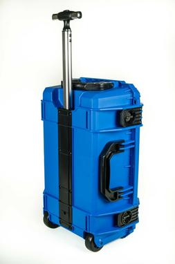 Seahorse 830ML Blue Protective Case W/ 5 Pouch Lid Organizer