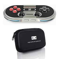 8bitdo NES30 Pro Controller with Bonus Carrying Case - for i
