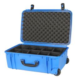 920 Blue Seahorse SE920 Case. With padded dividers & Pelican