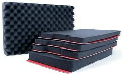 Seahorse 920 SE920 Tool foam inserts. Black and red tool sha