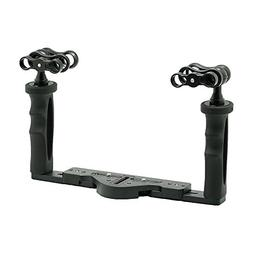 Aluminium underwater tray for waterproof case with 2 extra 1