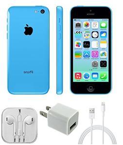 Apple A1532 iPhone 5c Unlocked S&D, Blue, 16 GB