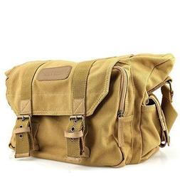 BESTEK Waterproof Canvas DSLR Camera Shoulder Bag with Shock