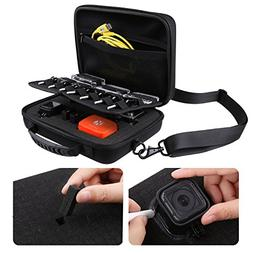 CamKix Deluxe Large Carrying Case Compatible with GoPro Hero