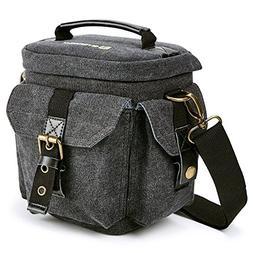 Camera Bag Evecase Compact DSLR/SLR Digital Camera Holster C