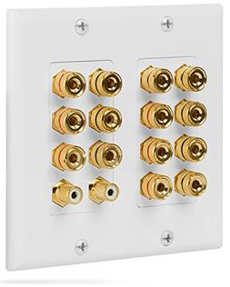 Fosmon  Home Theater Wall Plate - Premium Quality Gold Plate