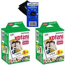 HeroFiber Fujifilm Instax Mini Twin Pack Instant Film -2 pac