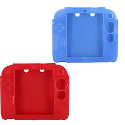 Lilyy 2Packs Protective Soft Silicone Rubber Gel Skin Case C