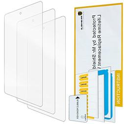"""3X ZenTech Clear Screen Protector Guard Shield Armor Film For Nabi 2 7/"""" Tablet"""