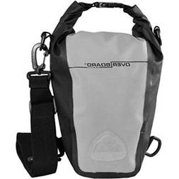 Overboard Waterproof Roll-Top SLR Camera Bag, Grey/Black, 7-