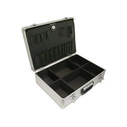 SRA Cases EN-AC-FG-A022 Silver Aluminum hard case, 18.1 x 13