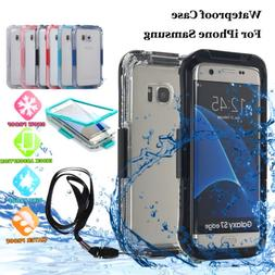 Samsung Galaxy S6/S7/S10+ Note 9/10+ Shockproof Waterproof D