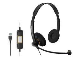 Sennheiser SC 60 USB ML  - Double-Sided Business Headset   F