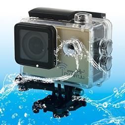 Sports Cameras, SJ8000 WiFi Novatek 96660 Ultra HD 4K 2.0 in