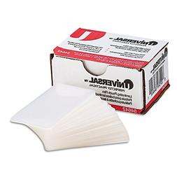 Universal UNV84642 100 per Box Clear Laminating Pouches, 2 1