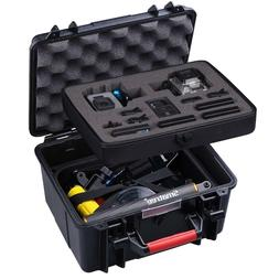 Smatree ABS Waterproof Hard Carry Case for GoPro Hero 7 6 5