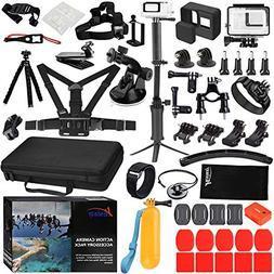 Husiway Accessory Kit for GoPro Hero 7 6 5 Black Waterproof