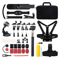 Victure Action Camera Accessories Outdoor Sports Combo Kit f