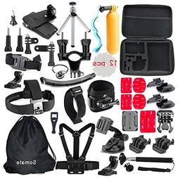4K Action Camera Accessories Kit for Gopro Hero 5/4 Session