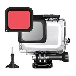 TEKCAM Action Camera Waterproof Case Protective Housing with