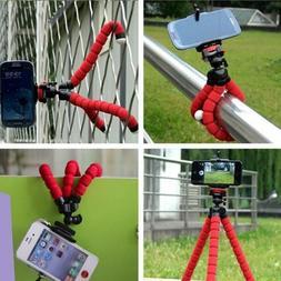 Adjustable Octopus Tripod Bracket Phone Holder Mobile Camera