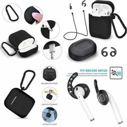 Airpods Accessories Set Waterproof Silicone Case Cover W Key