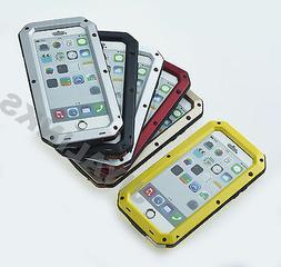 ALUMINIUM GORILLA GLASS METAL CASE COVER FOR iPHONE MODELS W