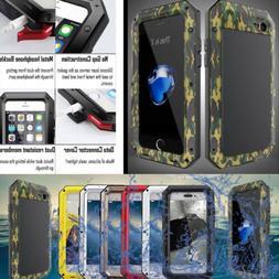 Aluminum Metal Shockproof Waterproof Gorilla Glass Case Cove