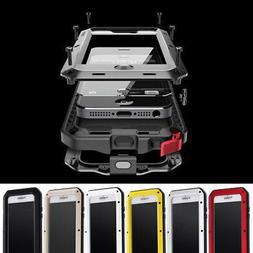 For iPhone XS Max XR 7 8 Aluminum Shockproof Waterproof Gori