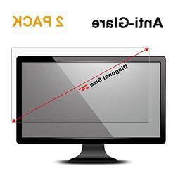 """24 inch Anti Glare Screen Protector Compatible 24"""" Widesc"""