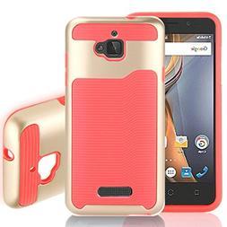 Aobiny Mobile Phone Shell Hard Bumper Hybrid Soft Rubber Ski