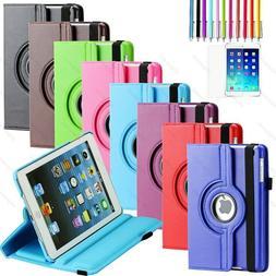 For Apple iPad 2 / 3 / 4 4th Gen w/ Retina Display 360 Rotat